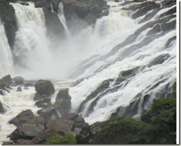 shivasamudra waterfalls