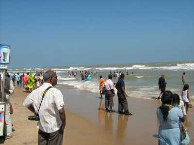 """Velankanni beach which is also known as """"Lourdes of the East """""""