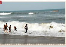 Elliots Beach in Chennai
