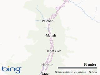 Manali-Map