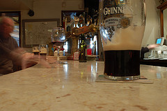 The bar at Davy Byrne's